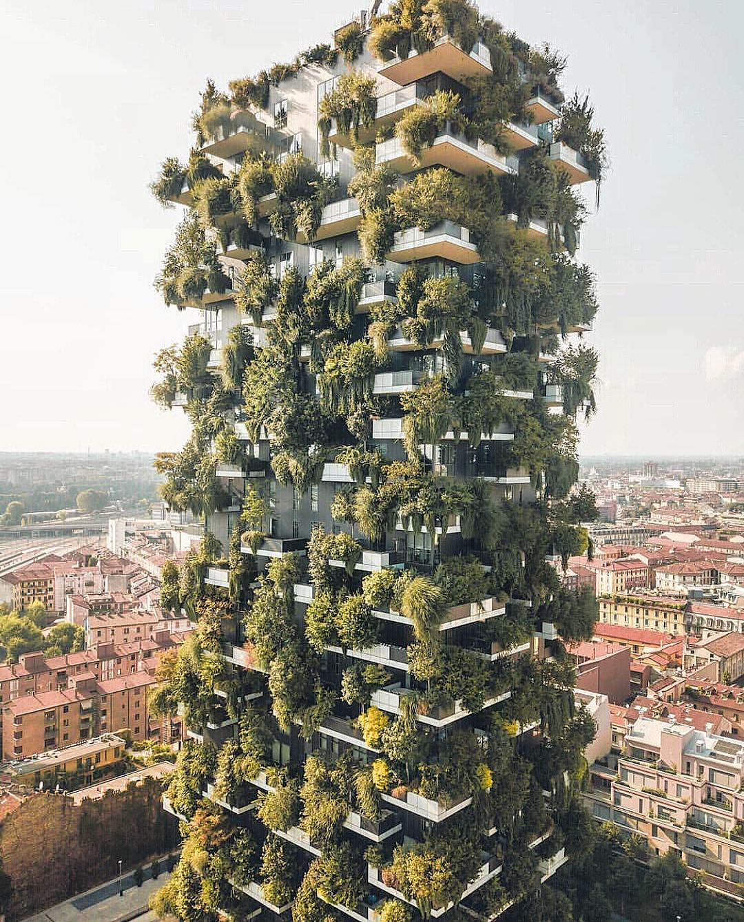Bosco Verticalealso known as the vertical forest. MFW