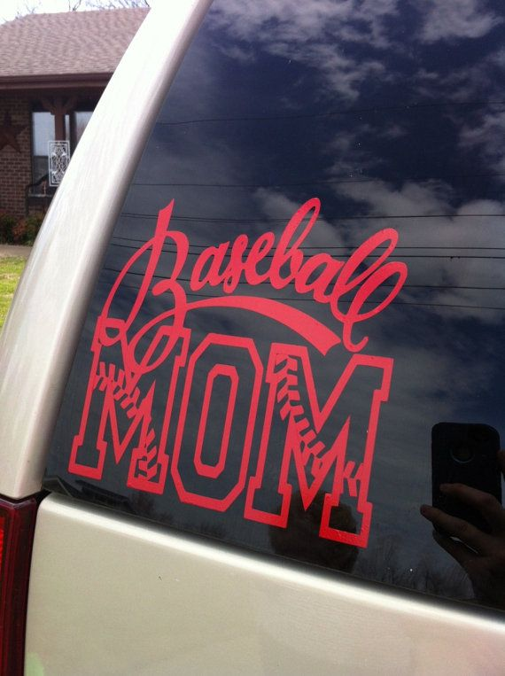 Hey i found this really awesome etsy listing at http www etsy com listing 128419673 7x6inch baseball mom vinyl decal