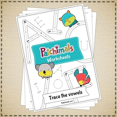 Vowels Tracing Worksheets - Uppercase | Our Products // Nuestros ...