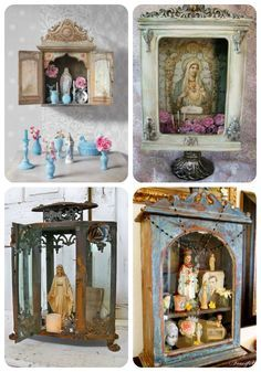 How to Turn a Decorative Lantern into a DIY Saint Shrine | Shadow ...