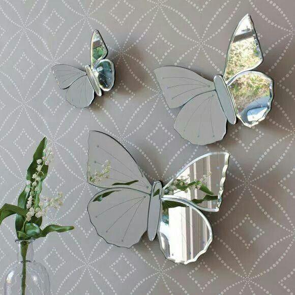 Butterfly Mirrors Butterfly Bathroom Decor Butterfly
