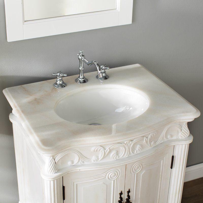 Ambudkar 27 Single Bathroom Vanity Single Bathroom Vanity