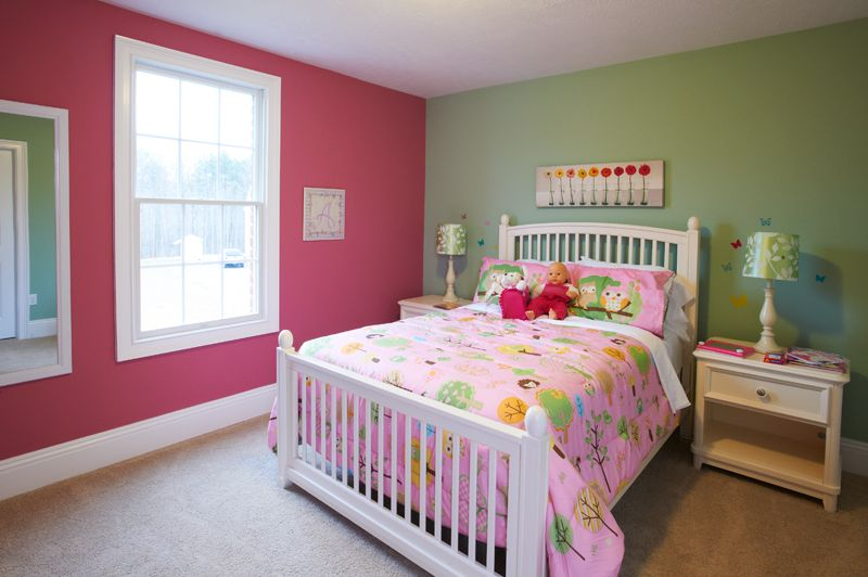 Pink And Green Wall Colors For Girls Bedroom | Choosing Paint Colors For A  Bedroom (