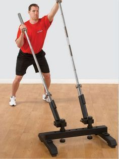 ect ii for torso training  at home gym diy workout