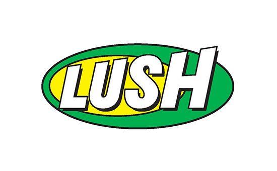 Lush Logo Design Retired Logos Identity Branding Type Signatures Pinterest Lush Logos