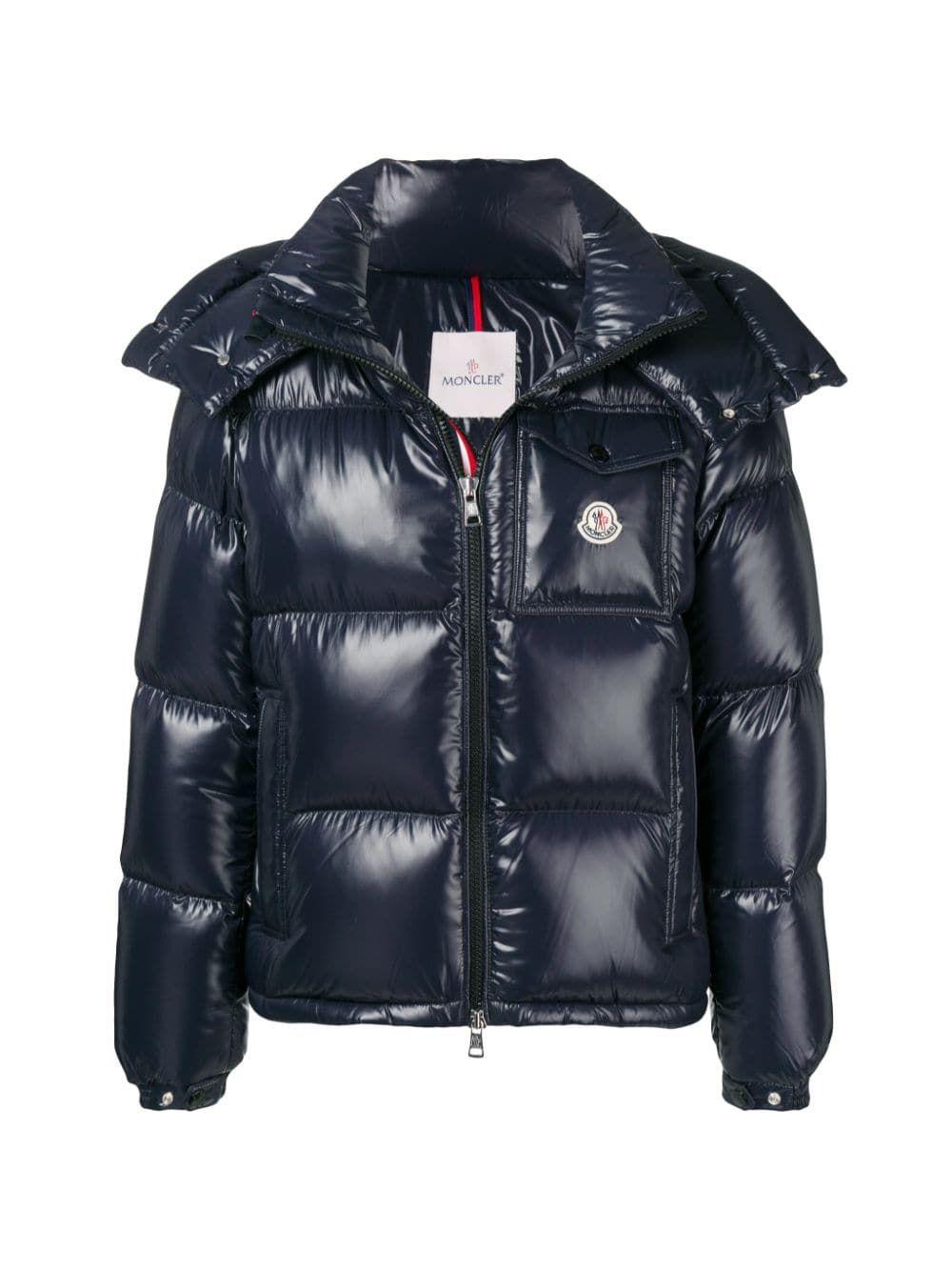 Moncler Padded Jacket In Blue Modesens Padded Jacket Jackets Moncler [ 1333 x 1000 Pixel ]