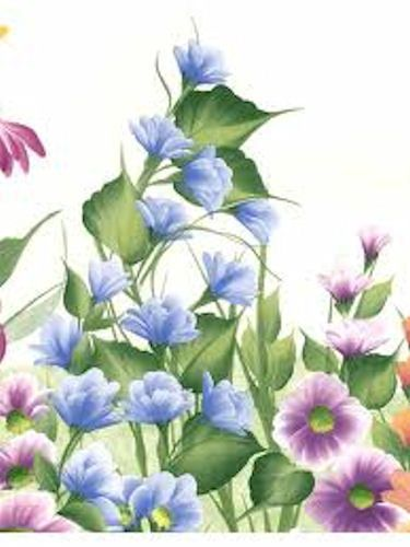 Donna-Dewberry-Tall-Floral-Garden-Border-Cream-White-240b63950