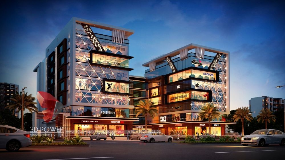 Shopping Mall 3d Rendering Shopping Mall Architecture Mall Design Mall Facade