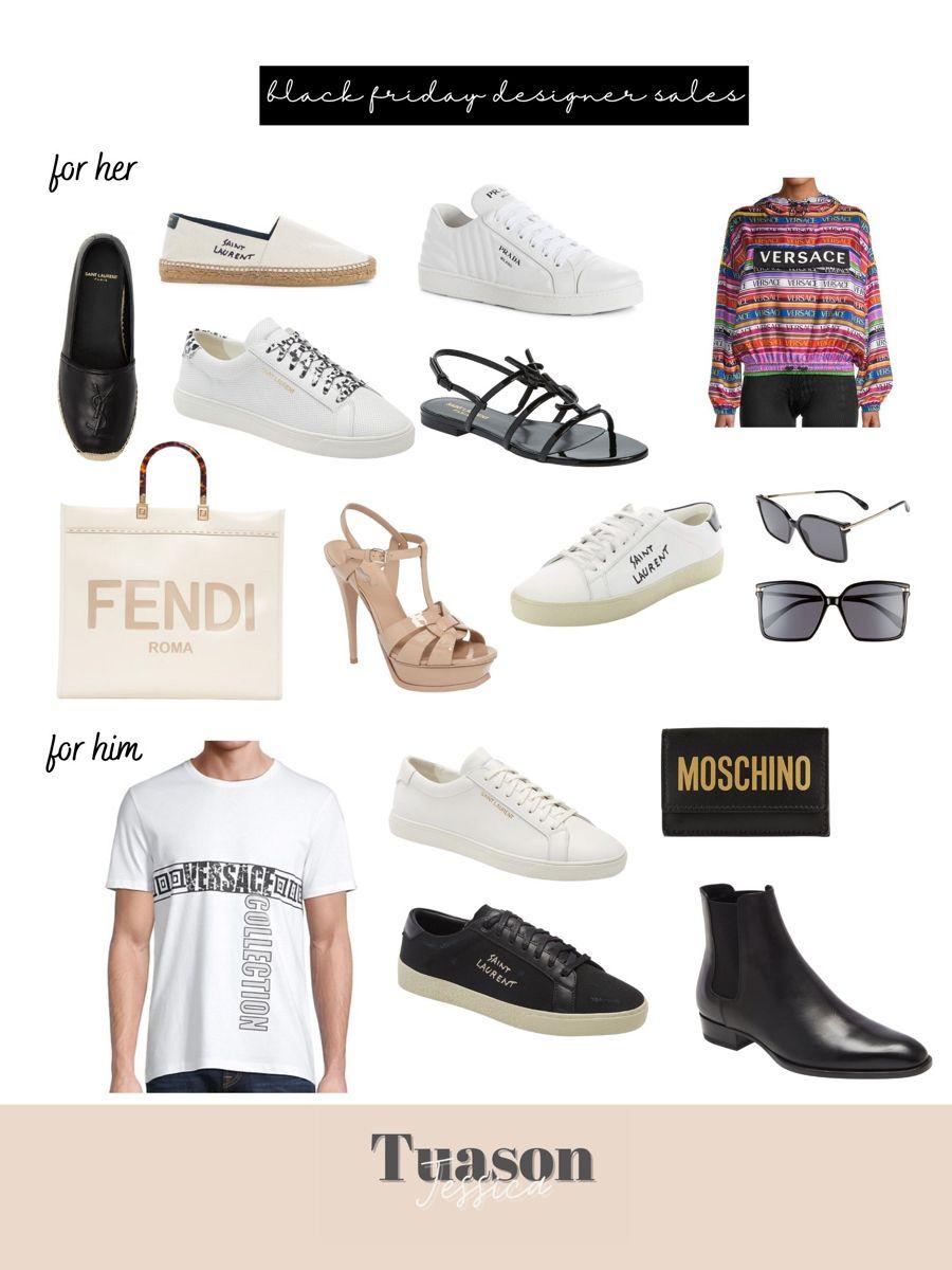 #designer #designersale #saintlaurentparis #moschino #versace #yslshoes #fendibag #salealert #blackfridaysale #blackfridaydeals