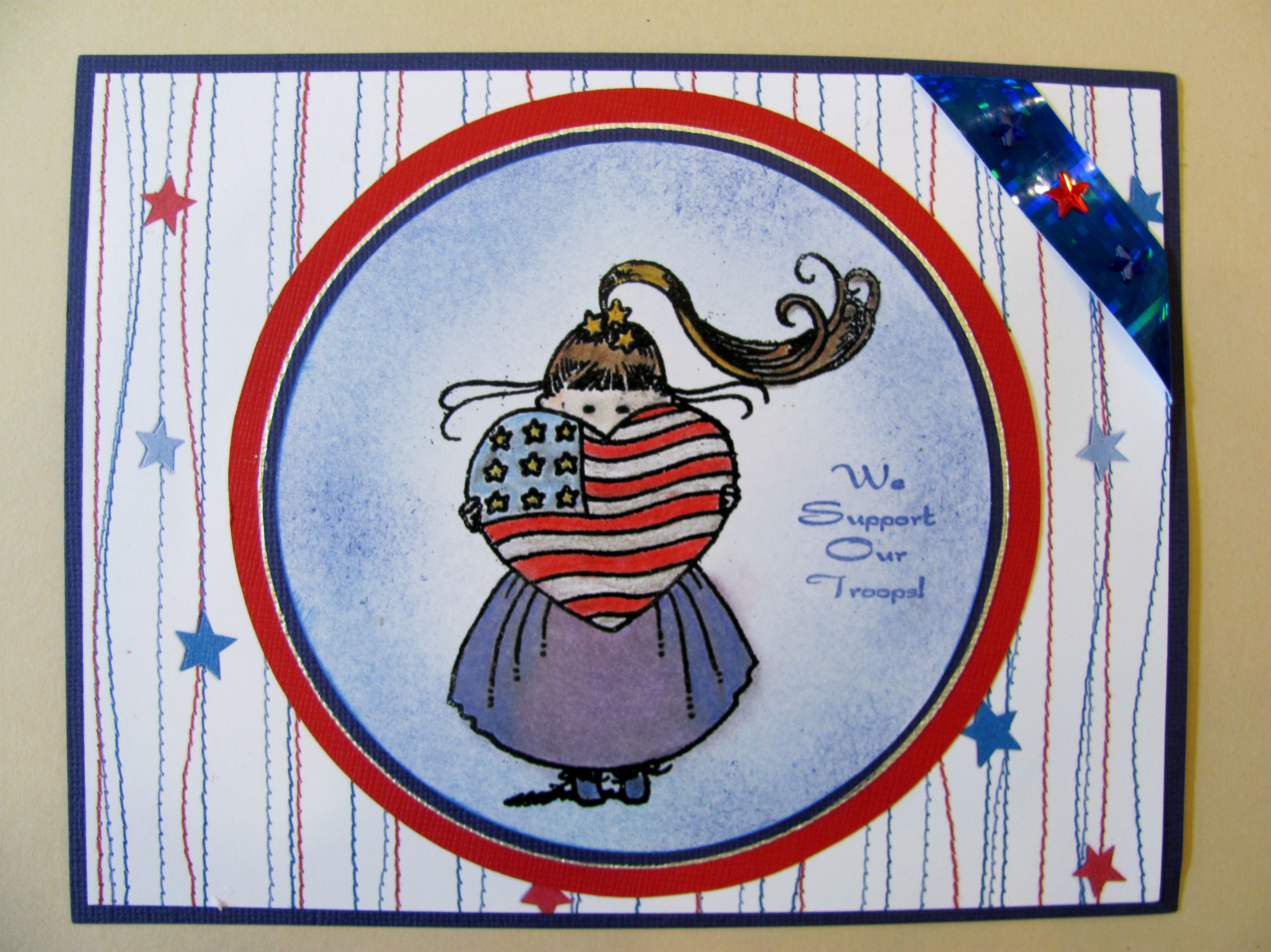 Door County Rubber Stamps   4th Of July