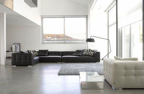Minimalistische Interieur Inrichting : Minimalistische woonkamers interieur inrichting home in