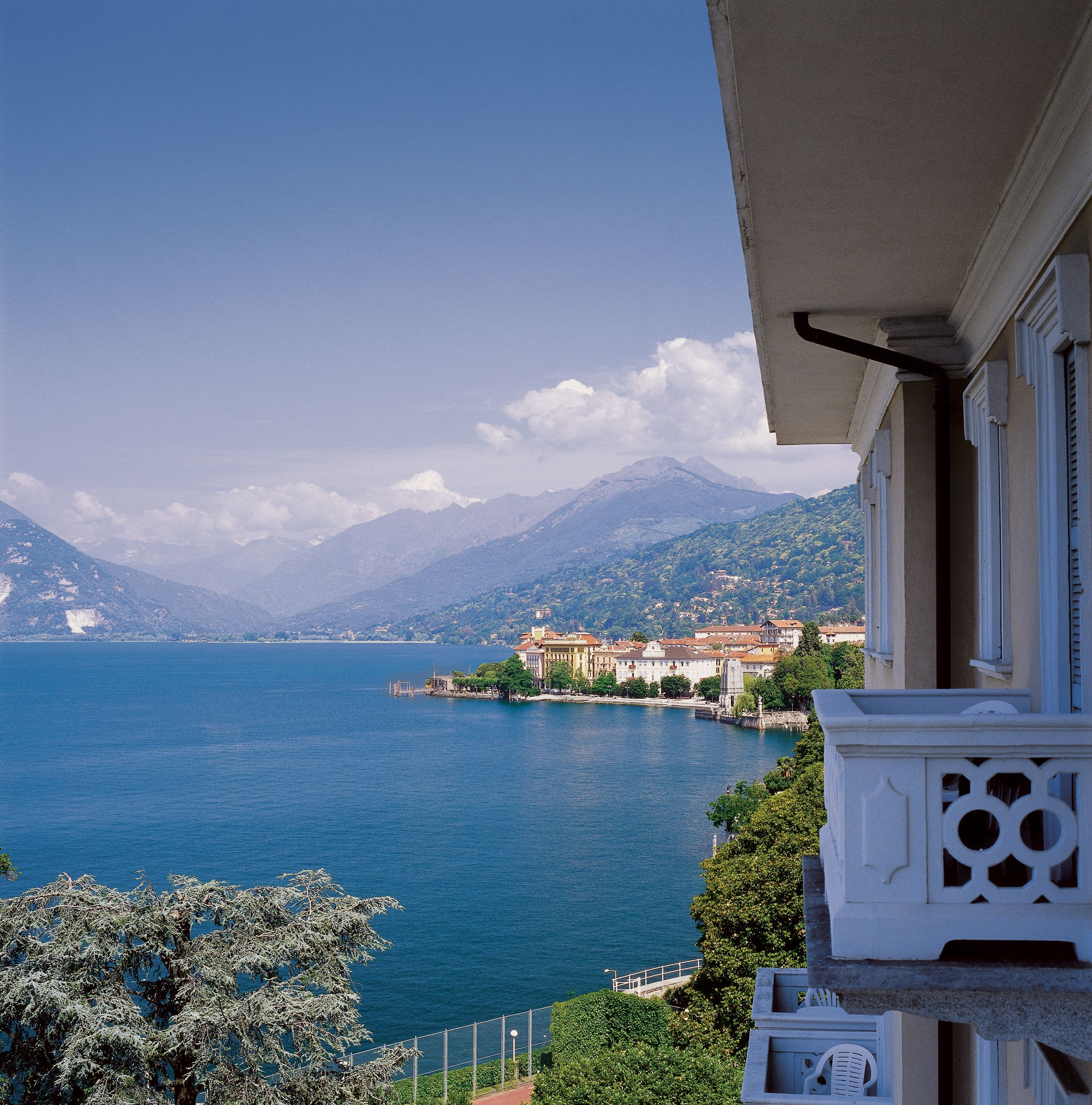 Gorgeous Views Of The Alps Grand Hotel Majestic Lago Maggiore Piedmont Italy Grand Hotel Majestic Hotel Beautiful Hotels
