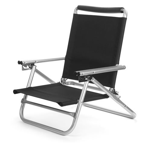Peters Of Kensington | Ocho - Reclining Event & Beach Chair Black : ocho beach chairs - Cheerinfomania.Com