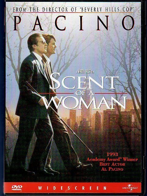 Dvd Scent Of A Woman Al Pachino And Chris Odonnell Lets Watch