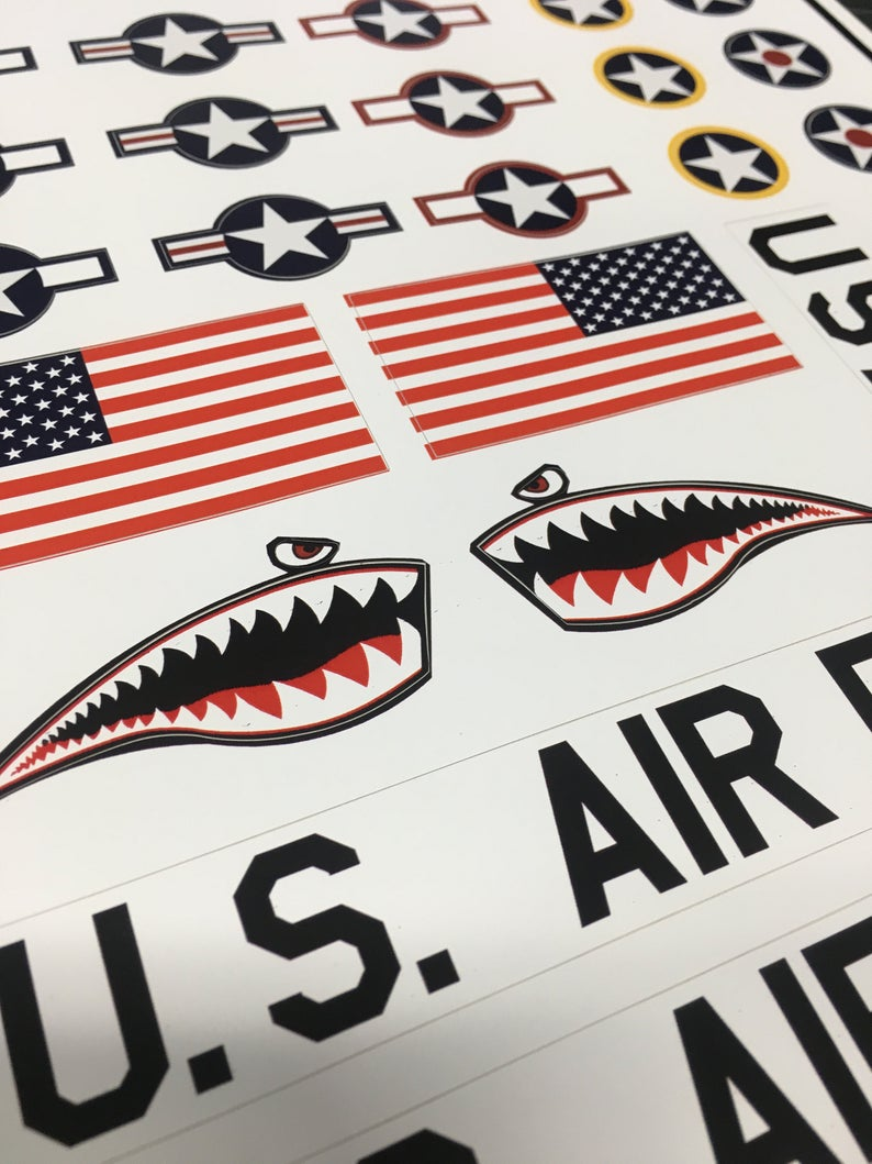 Usaf Sticker Pack Air Force Insignia Star And Bars Etsy Usaf Insignia Stickers Packs [ 1059 x 794 Pixel ]