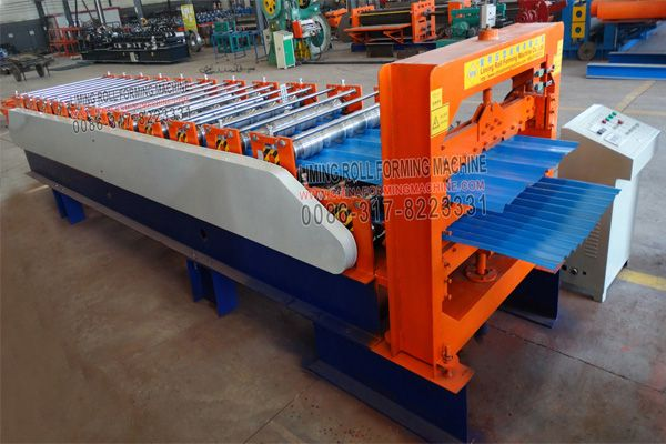 3 For Fit The Customers Can Used One Roof Sheet Roll Forming Machine But Can Formed More Profiles Of The Roof Sh Roll Forming Roofing Sheets Roofing Equipment