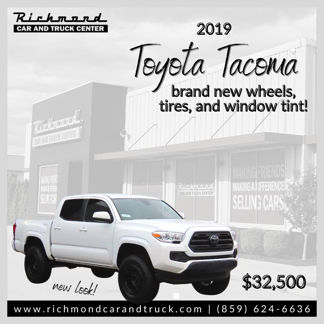 2019 Toyota Tacoma Sr V6 Double Cab Toyota Tacoma Toyota Tacoma For Sale Toyota