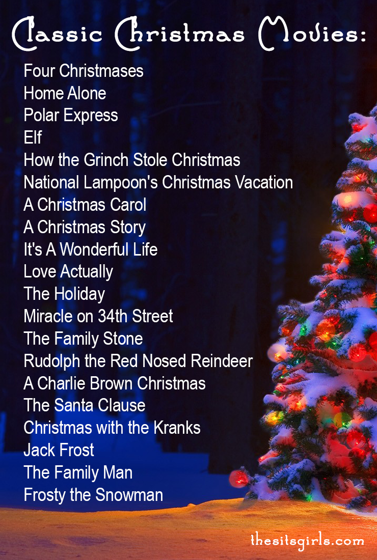 Christmas Movie Playlist Don't miss any of these classic