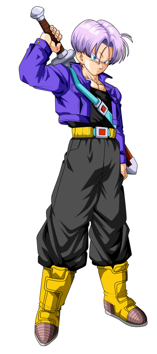 trunks del futuro dragon ball z by frost z ドラゴンボール