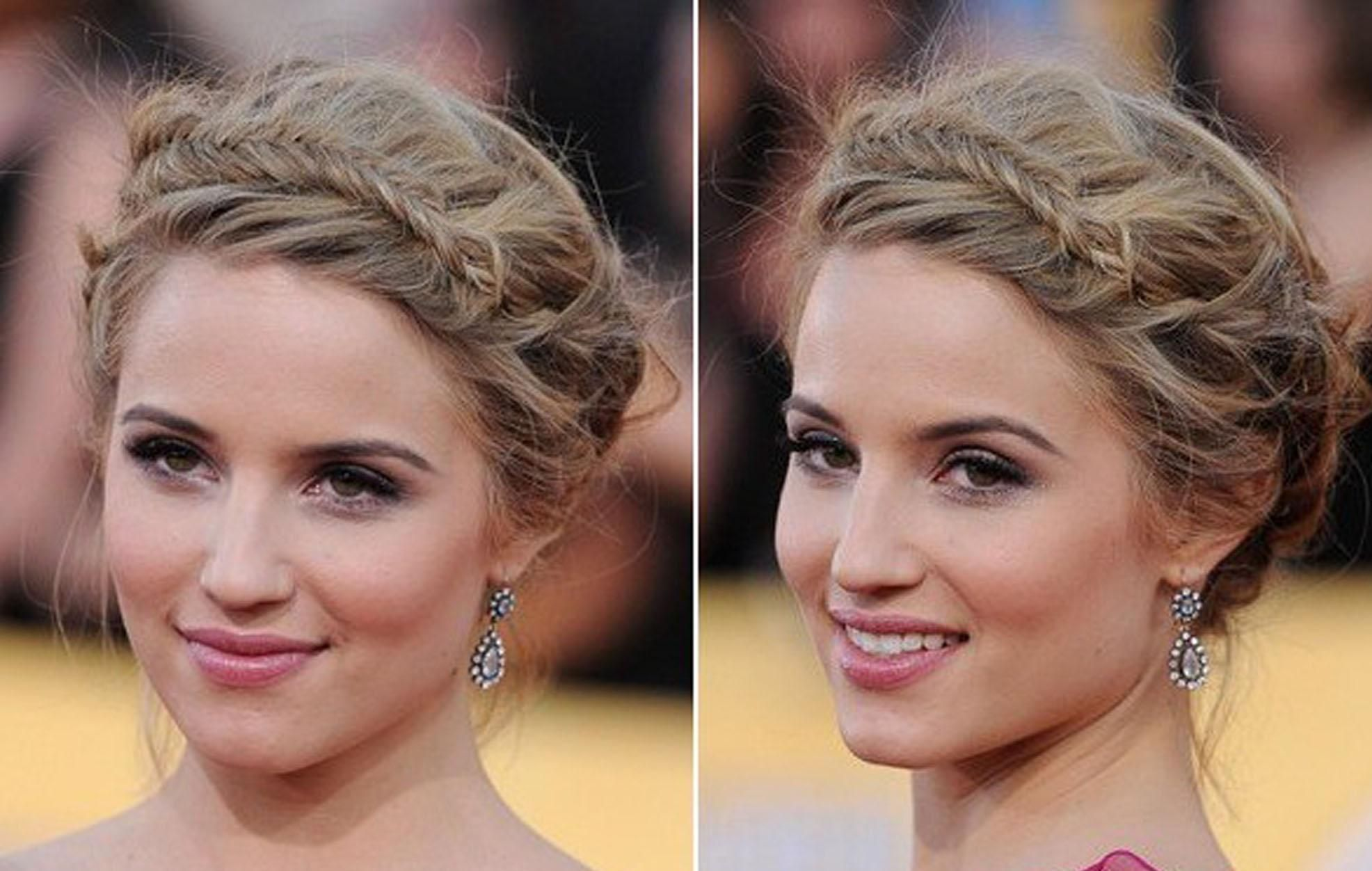 Fantastic 1000 Images About Braids On Pinterest Updo Milkmaid Braid And Short Hairstyles Gunalazisus