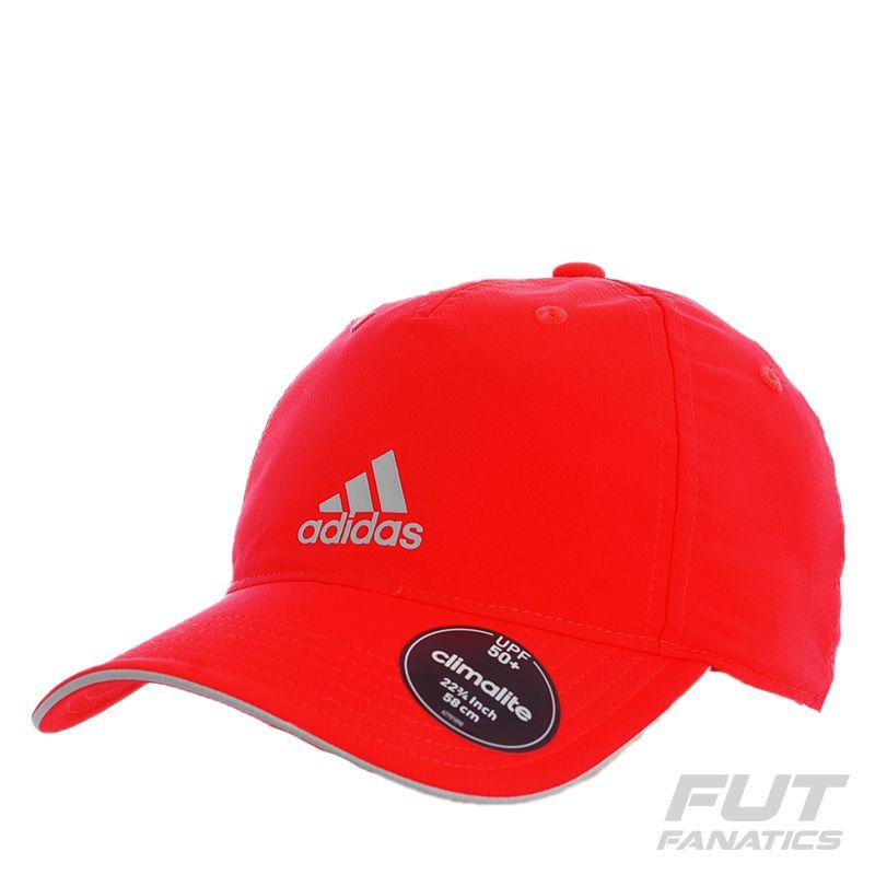 Boné Adidas Climalite Logo Vermelho Somente na FutFanatics você compra  agora Boné Adidas Climalite Logo Vermelho 4dcf74ec8fe