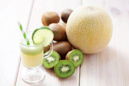 Resultado de imagen para Melón verde, pepino y kiwi recetas de jugos naturales de frutas y verduras