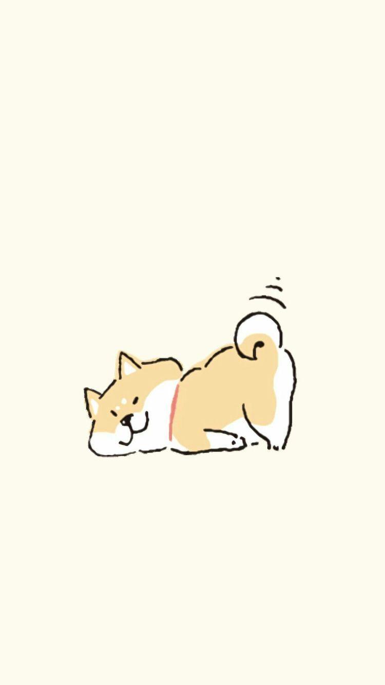 𝑔𝑐𝑑𝑙𝑖𝑘𝑒 柴犬 イラスト かわいい 犬 壁紙 かわいい動物の絵