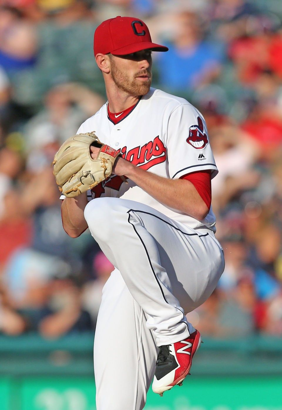 Cleveland Indians Shane Bieber Pitching Against The New York Yankees At Progressive Field July Cleveland Baseball Cleveland Indians Baseball Indians Baseball