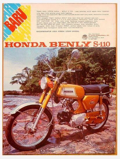 Iklan Motor Jadul Gambar Lucu Terbaru Periklanan Motor Honda