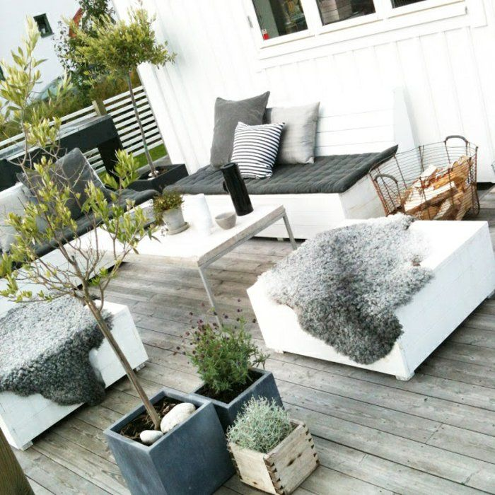 60 photos comment bien am nager sa terrasse outdoor living outdoor spaces and balconies. Black Bedroom Furniture Sets. Home Design Ideas