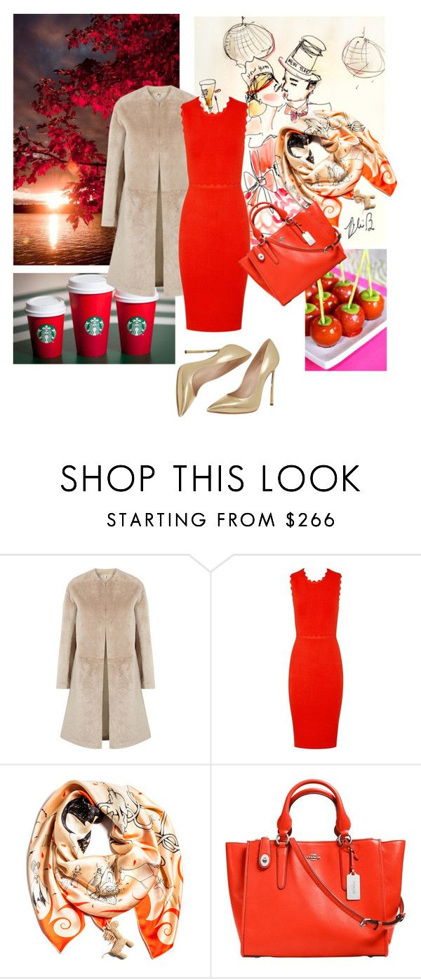 """""""Untitled #359"""" by stelastela ❤ liked on Polyvore featuring Helmut Lang, A.L.C., rumisu, Coach, Casadei, women's clothing, women, female, woman and misses"""