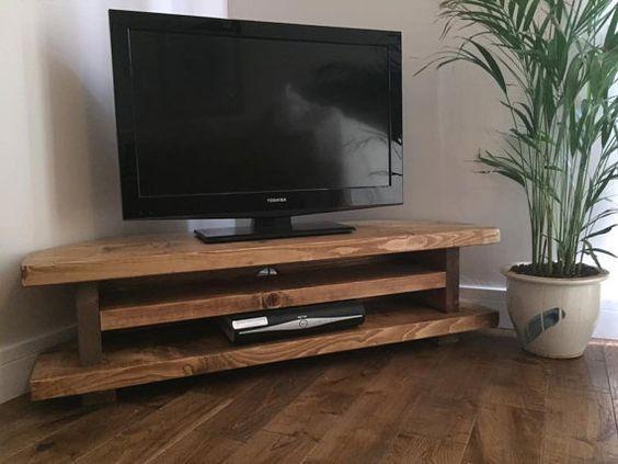 muebles-esquineros-para-tu-casa (20 Pinterest TVs, Living rooms