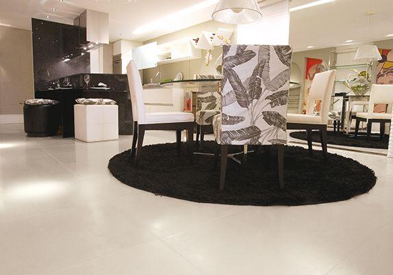 Artefacto Brasília - Arq. Thaciana Eurípedes - Foto Mik Biersack #ceramicaportinari Produto Cerâmica Portinari. Salas, Rooms, Sala.