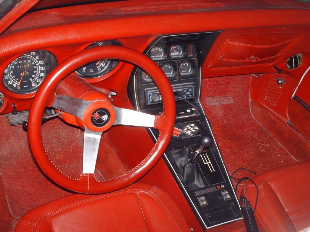 1977 corvette interior mine has a black interior