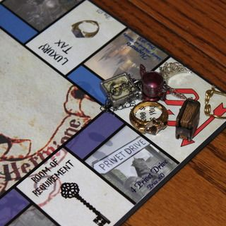 Custom harry potter monopoly do it yourself pinterest harry custom harry potter monopoly solutioingenieria Images