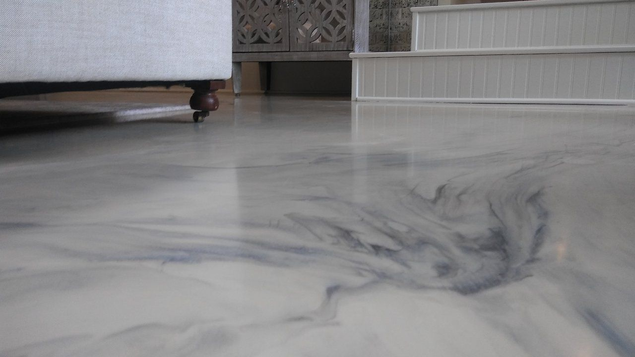 White And Grey Marble Epoxy Cypress Tx Gallery Artisan Concrete Surfaceworks Dc King Contractors Flooring Metallic Epoxy Floor Hardwood Floors