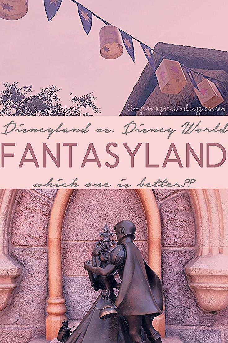 Photo of Fantasyland – Disneyland vs. Disney World – What's the Difference?