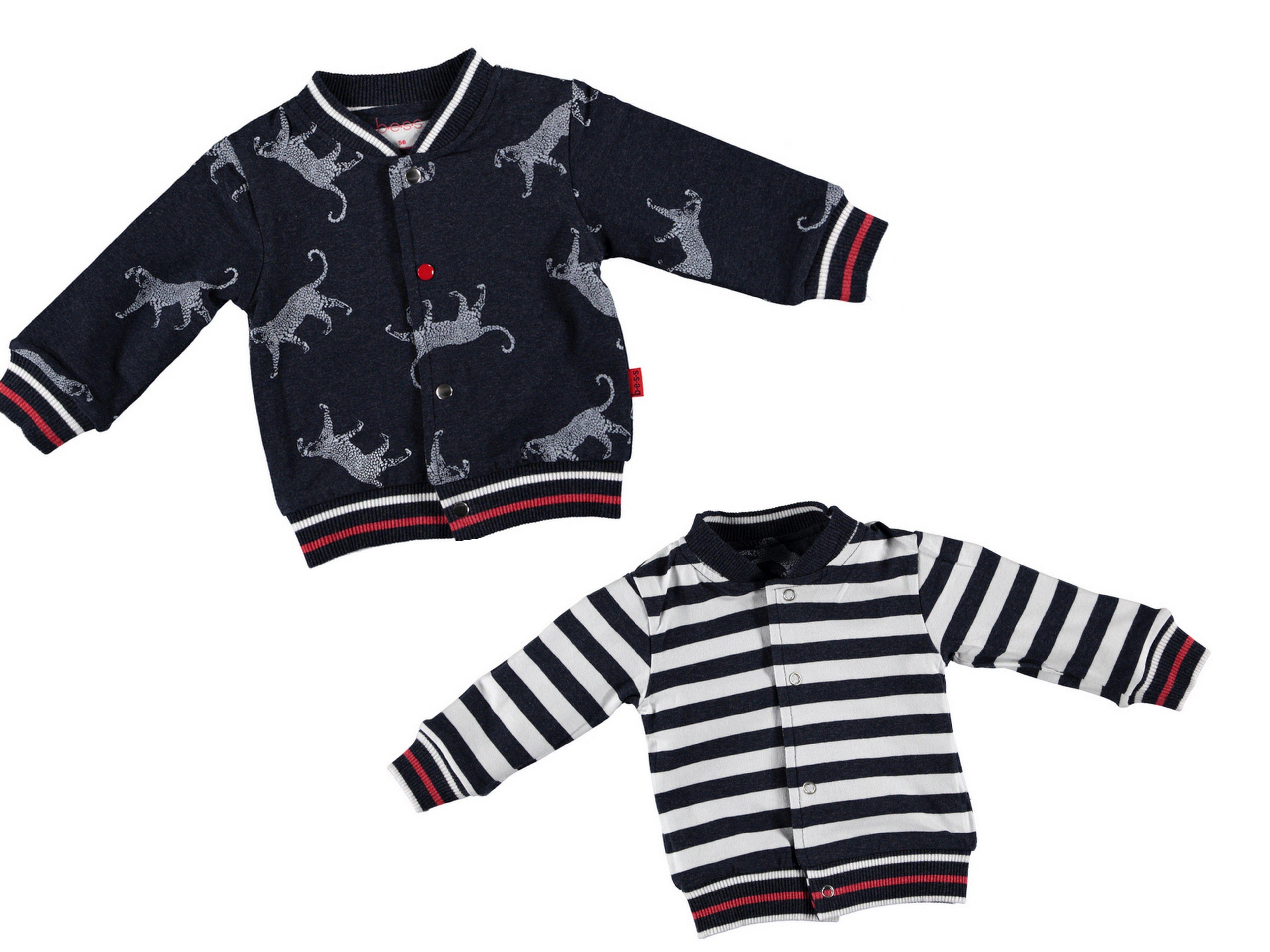 22804bdbb75cfd Hoe praktisch is dit vestje uit de babykleding collectie zomer 2019 van  B.E.S.S. Het vestje kun