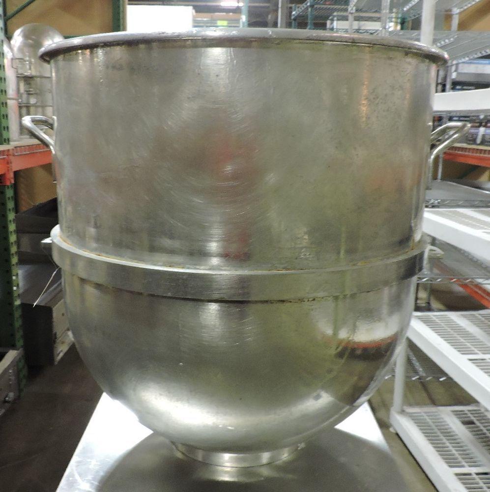 Used Hobart 140 Qt Commercial Tin Mixer Bowl Hobart Used Restaurant Equipment Restaurant Equipment Tin