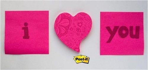 Demuestra lo que sientes dejando una nota Post it y arráncale un sonrisa esa persona especial. ¡Imagina todo lo que puedes hacer!