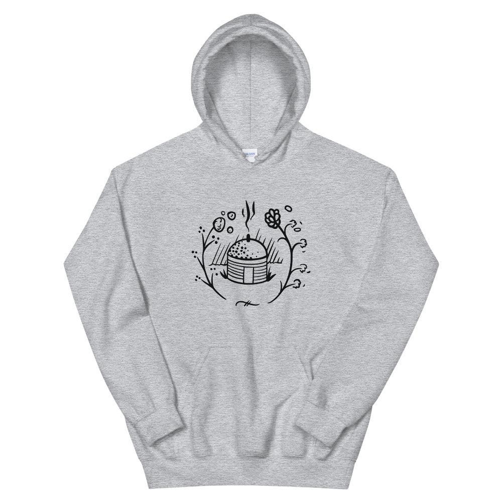 Navajo Hogan Unisex Hoodie - Sport Grey / XL