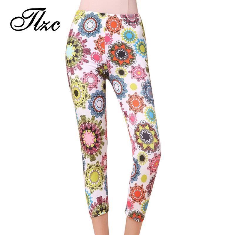 Encontrar Más Pantalones y Capris Información acerca de Tlzc caliente venta  2016 de la alta cintura fd71dc7b259