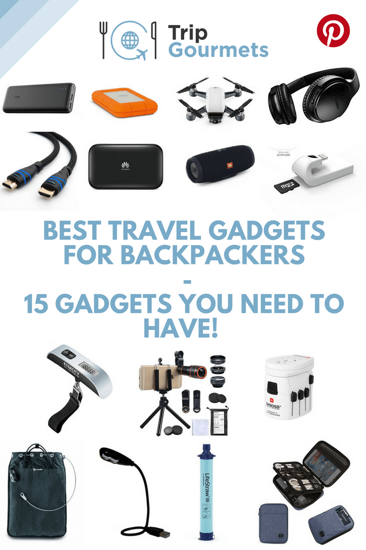 Best Travel Gadgets for Backpackers - 15 Gadgets You Need to Have!