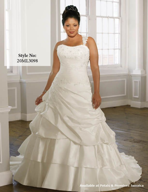 Petals Promises Jamaica Plus Size Bridal Dresses Wedding Dress Styles Plus Size Wedding Gowns