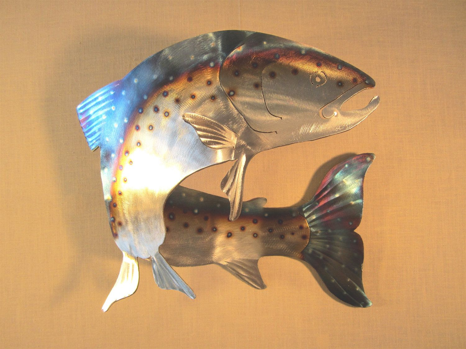 Fishing decorations for home salmon steelhead spawning fish fly fishing decorations for home salmon steelhead spawning fish fly fishing fisherman swimming stream amipublicfo Gallery