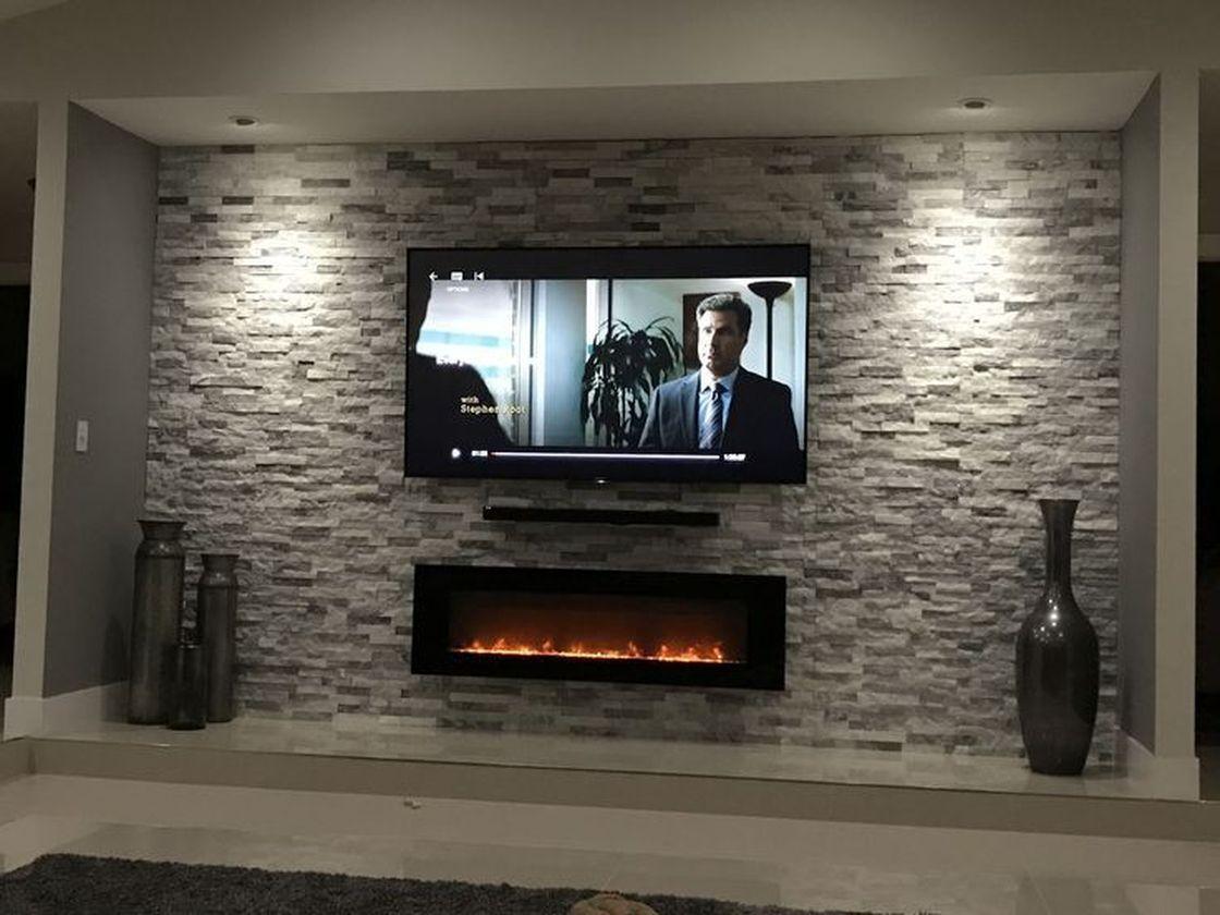 53 Adorable Tv Wall Decor Ideas Roundecor Living Room Tv Wall Tv Wall Decor Tv Wall Design