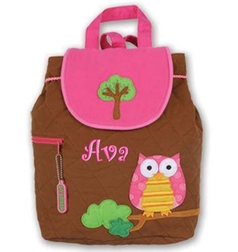 Children Backpack Personalized Owl Stephen Joseph by parsik93, $25.99
