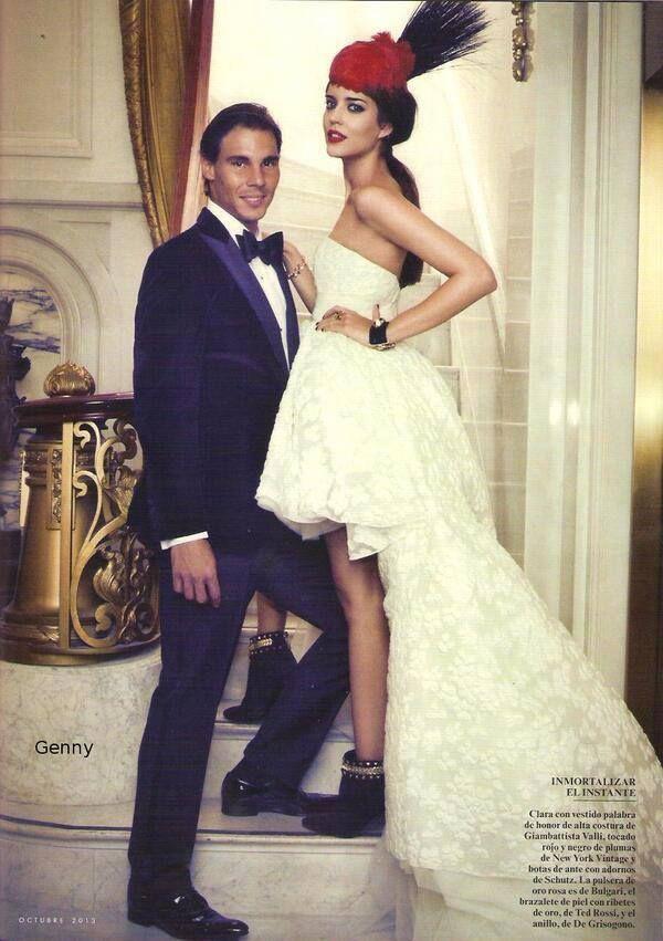 Photo Shoot With Vanity Fair Spain Mermaid Wedding Dress Wedding Dresses Photoshoot