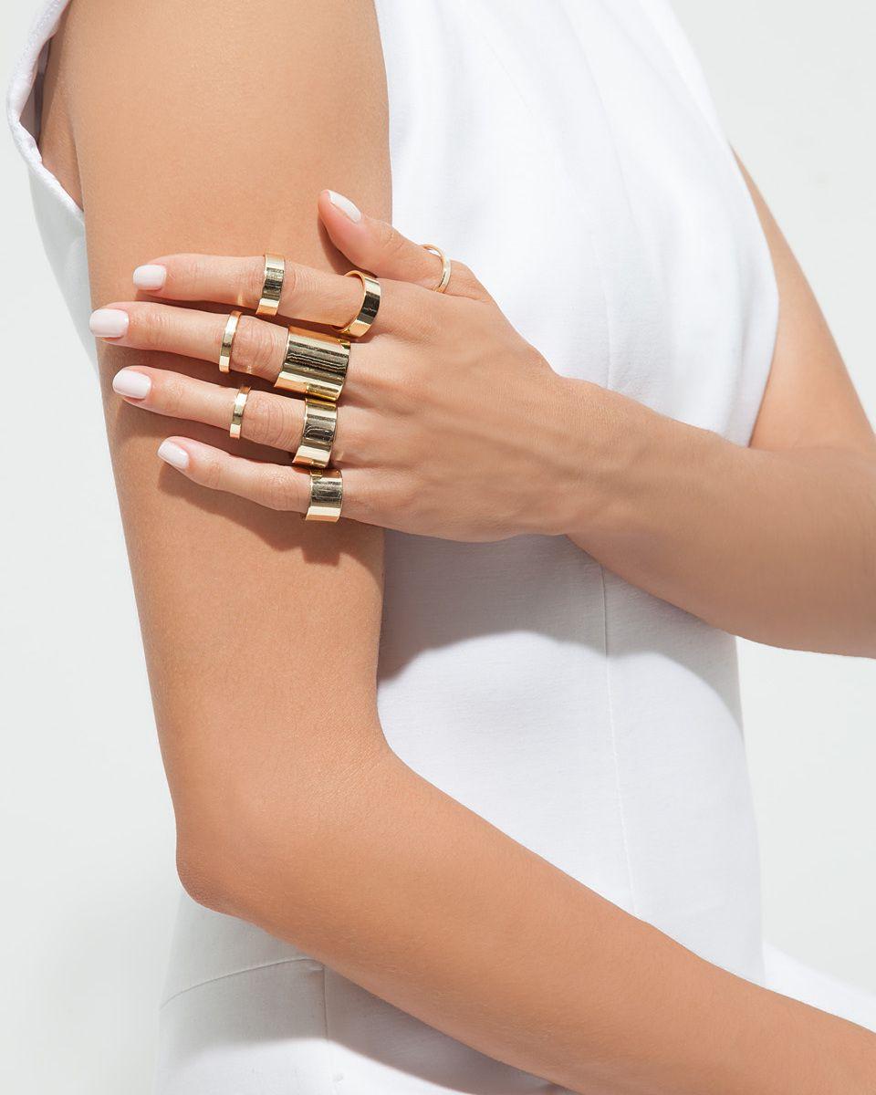 Golden Hour Ring Set - JewelMint
