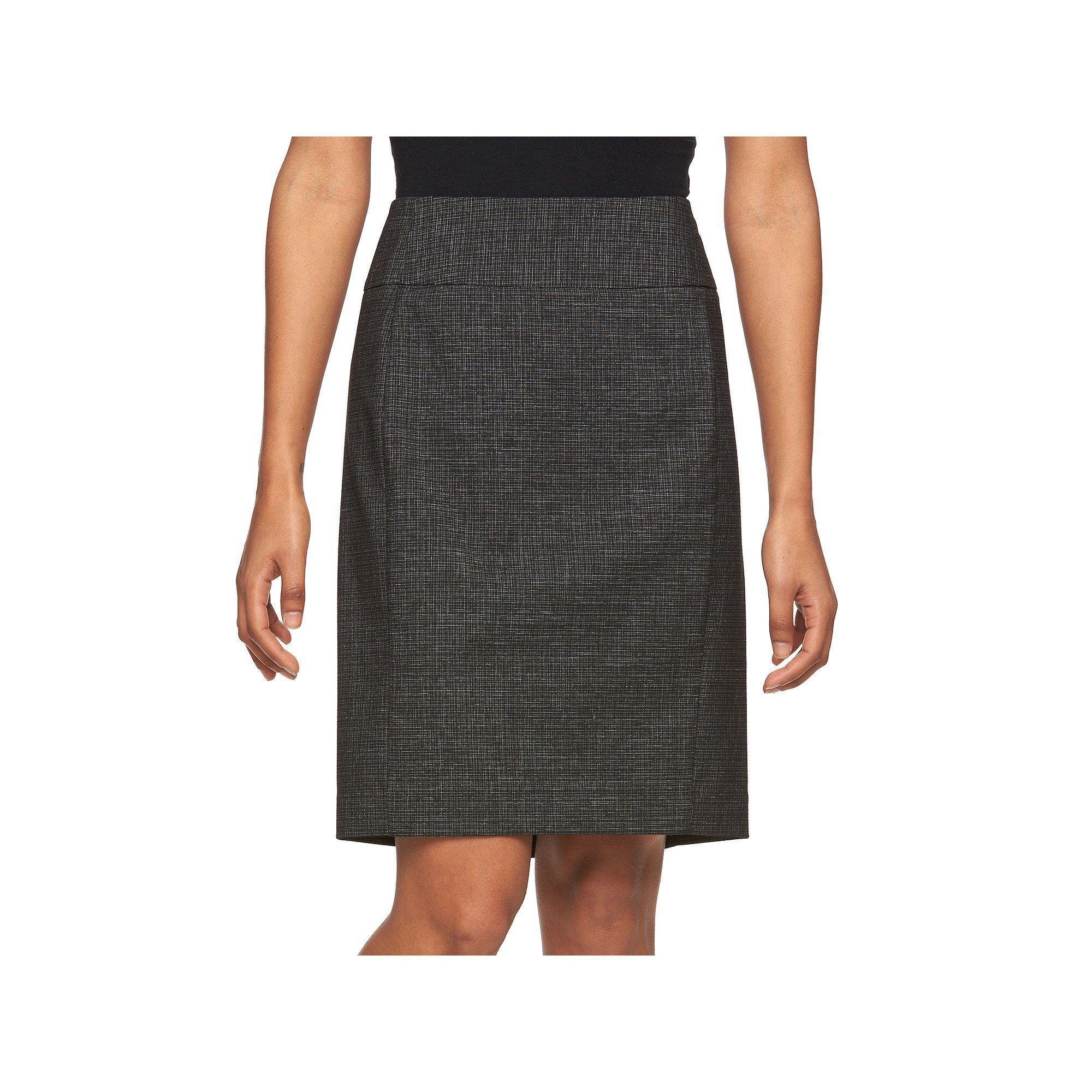50929849 Petite Apt. 9® Slubbed Pencil Skirt | Products | Petite pencil skirt ...
